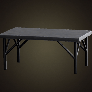 Iron worktable