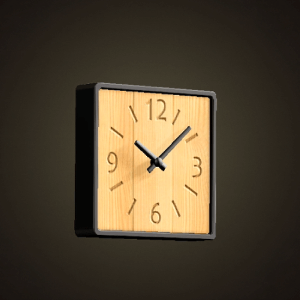 Ironwood clock
