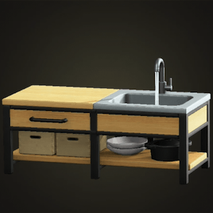 Ironwood kitchenette