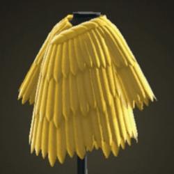 Manteau traditionnel en paille