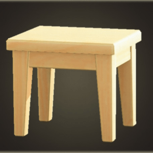 Wooden mini table