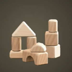 Wooden-block toy