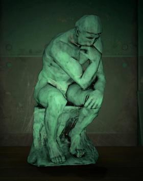 Familiar statue