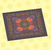 Spooky rug