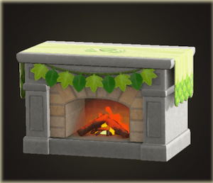 Turkey Day Fireplace