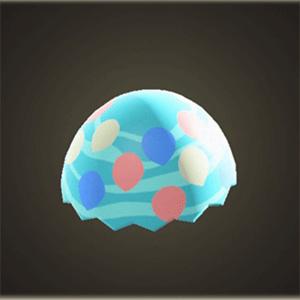 Sky-egg shell