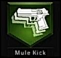 Mule Kick Perk