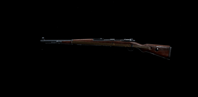 Kar98k Marksman Rifle Basic Information