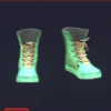 Turquoisewall Composite Punk High-tops