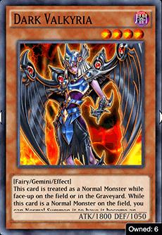Dark Valkyria - YuGiOh! Duel Links