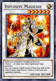 Explosive Magician - YuGiOh! Duel Links