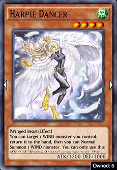 Harpie Dancer - YuGiOh! Duel Links