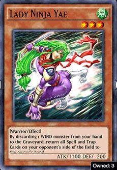 Lady Ninja Yae - YuGiOh! Duel Links