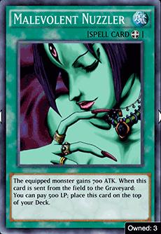 Malevolent Nuzzler - YuGiOh! Duel Links