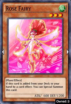 Rose Fairy - YuGiOh! Duel Links