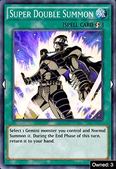 Super Double Summon - YuGiOh! Duel Links