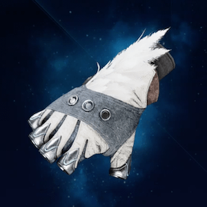 Feathered Gloves
