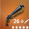 Double Barrel Shotgun Icon