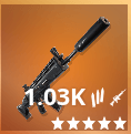 Suppressed Assault Rifle Icon