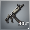 Submachine Gun Icon