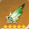 Viridescent Arrow Feather