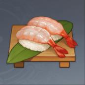 Sweet Shrimp Sushi