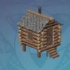 Pocket-Sized Pine Cabin