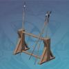 Hardwood Weapon Rack