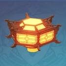 Six-Sided Lantern: Harmony in Friendship