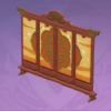 Floral Screen: Jade and Gold (Furniture)