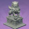 Stone Lion Statue: The Warding
