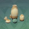 Hardened Glazed Vase