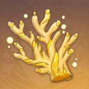 Golden Branch Of a Distant Sea