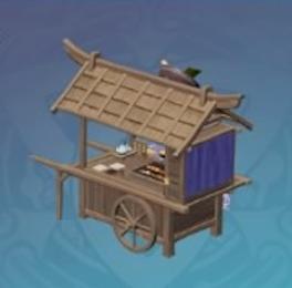 Otogi Wood Ramen Stand (Simple Stall)