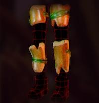 Acorn Leg Plates