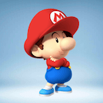 Baby Mario icon