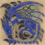 Azure Rathalos Icon