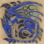 Azure Rathalos Icon