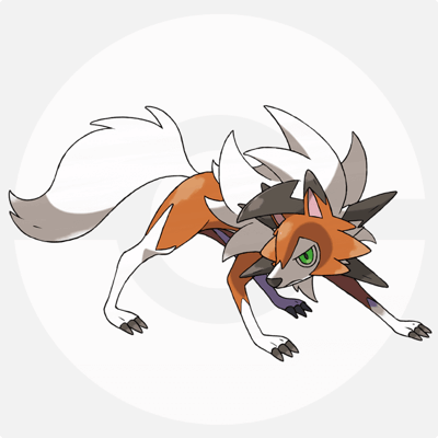 Lycanroc(Dusk Form) Icon