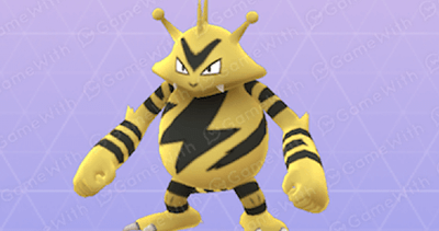Electabuzz - Rating, Stats & Max CP