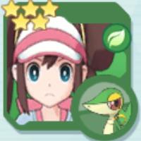 Rosa & Snivy Icon