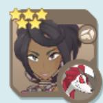 Olivia & Lycanroc Icon