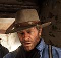 Worn Gambler`s Hat Image