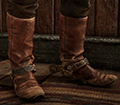 Worn Roper Boots Image
