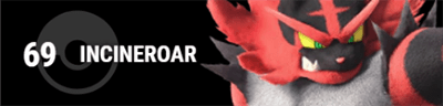 INCINEROAR Eyecatch