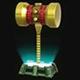 Golden Hammer Icon