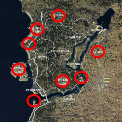 Best Weapon Locations In Blackout Mode