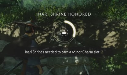 Increase Charms After Honoring Shrines