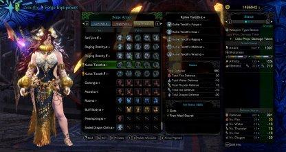Master Rank Kulve Taroth Armor Slots & Skills