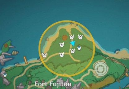 Treasure Area 4 - Iron Coin Locations